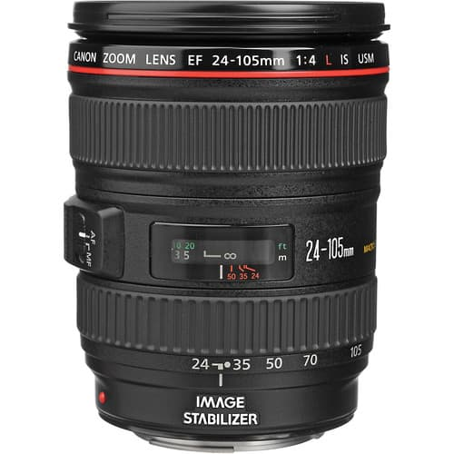 عدسه كانون Canon EF 24-105mm f/4L IS USM Lens :
