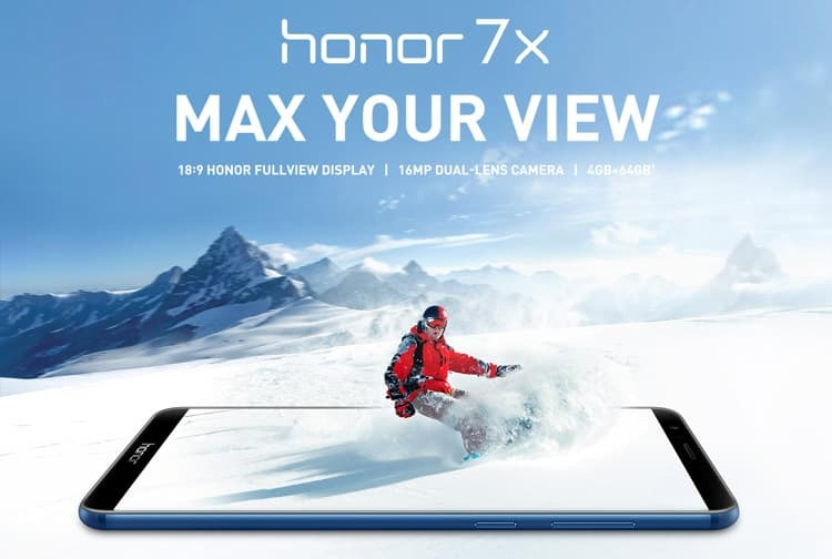 سعر ومواصفات موبايل هونر سيفين اكس Huawei Honor 7X