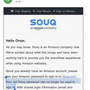 Amazon preparing the launch of Amazon.ae to replace Souq.com in UAE