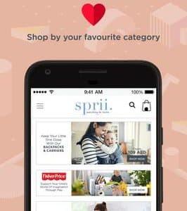 تطبيق سبري كوم sprii سبري - كل شيء للأمهات
