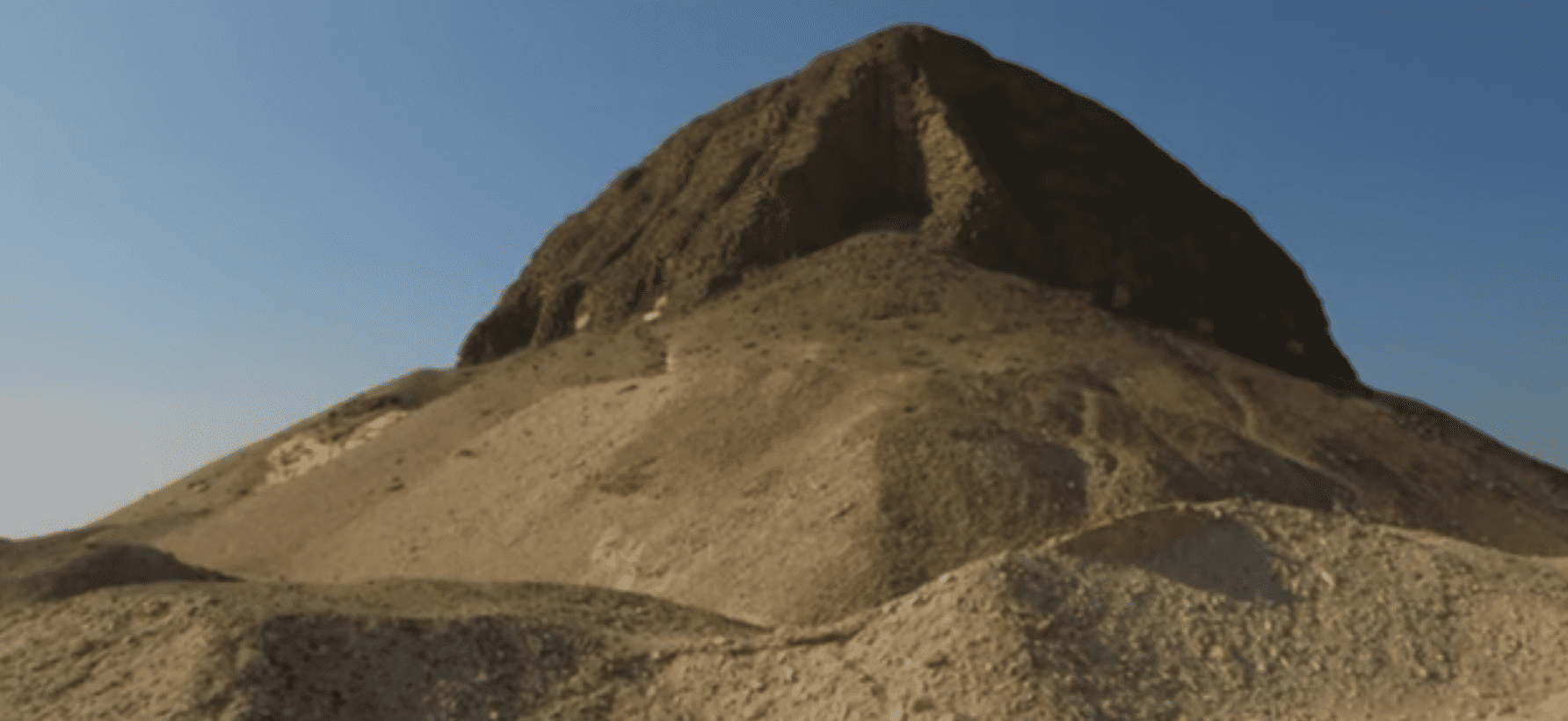 The Pyramid of Senusret II at Lahun in Egypt