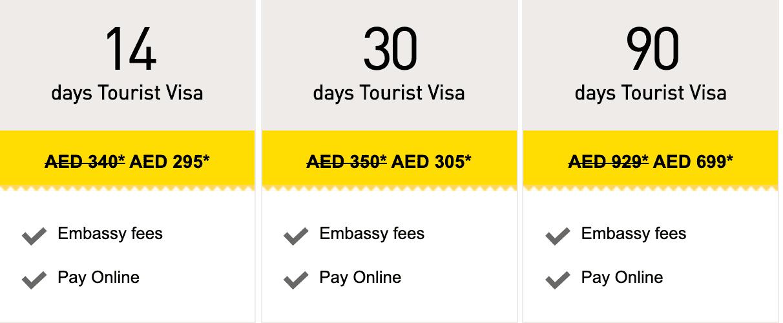 UAE Visa in three easy steps