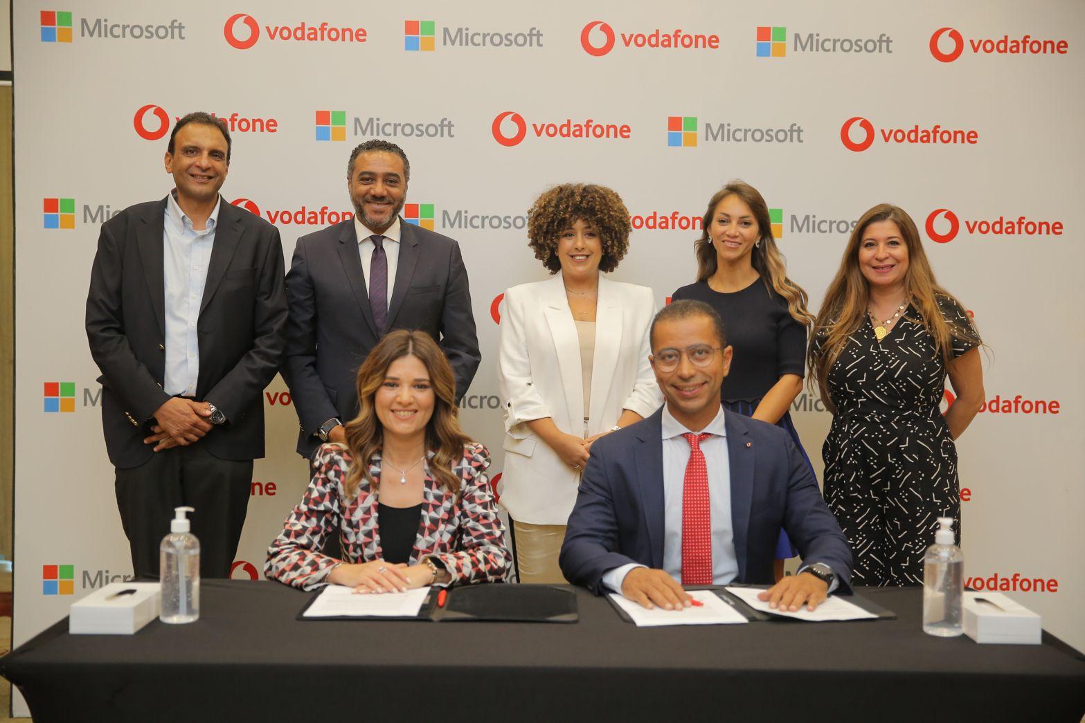 فودافون تتعاون مع مايكروسوفت لتنمية المهارات الرقمية للشباب عبر منصة «Begin»
