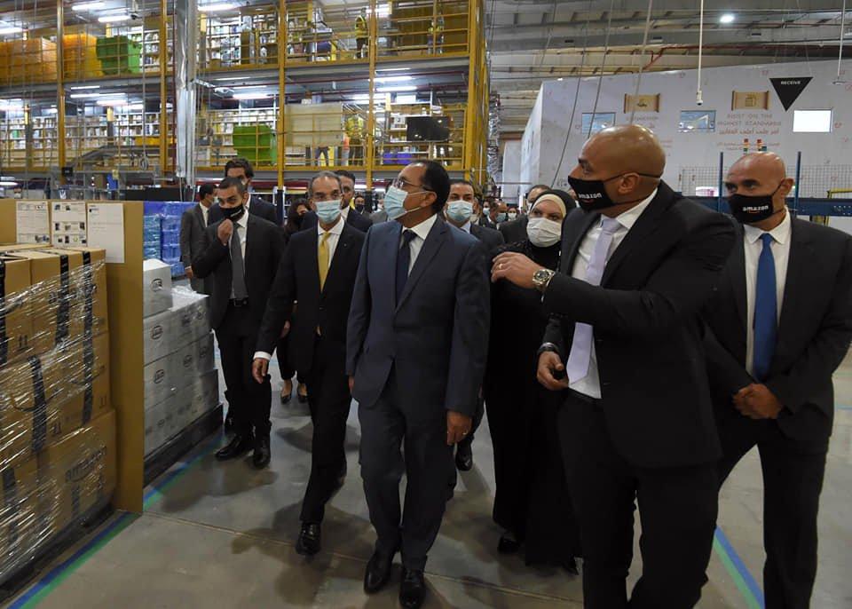 امازون مصر استثمارات مليار جنيه وافتتاح مستودع بالعاشر من رمضان